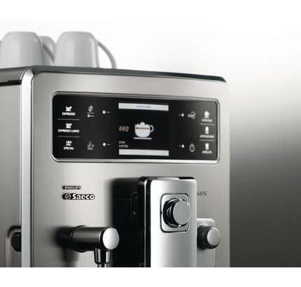 Philips Saeco Automatický espresovač Xelsis detail displeje